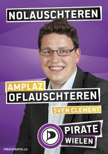 Sven Clement, Piratenpartei Luxemburg
