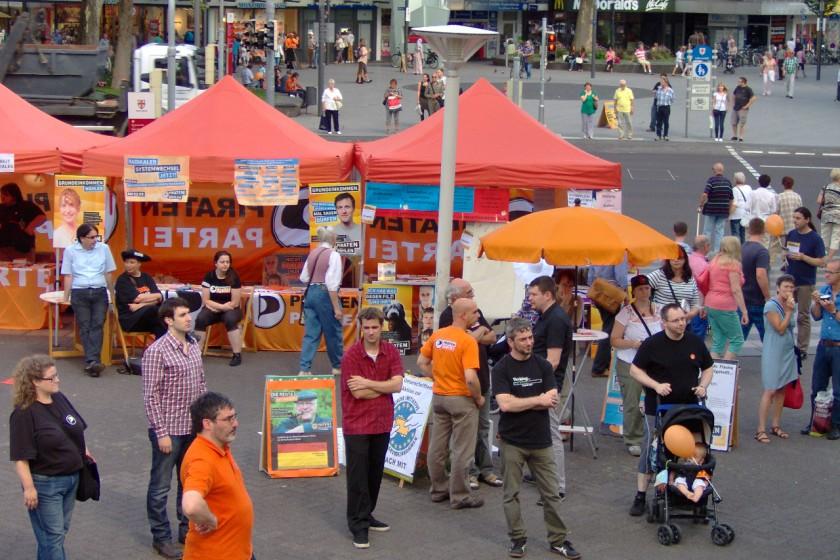 Wahlkampf-Event der PIRATEN Rheinland-Pfalz