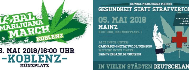 Demos in Koblenz und Mainz